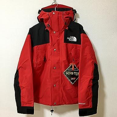 The North Face ザ ノースフェイス 日本未発売 Gore,Tex 1990 Mountain Parka マウンテンパーカー  レッドxブラック赤x黒