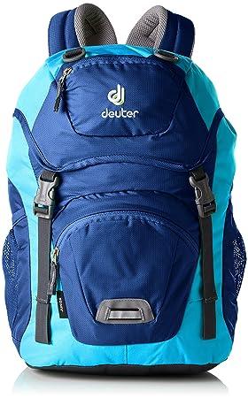 Deuter Junior Mochila, Unisex niños, Morado (Steel-Turquoise), 24x36x45 cm (W x H x L): Amazon.es: Zapatos y complementos