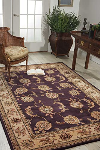 Nourison Nourison 2000 2022 Lavender Rectangle Area Rug, 9-Feet 9-Inches by 13-Feet 9-Inches 9 9 x 13 9