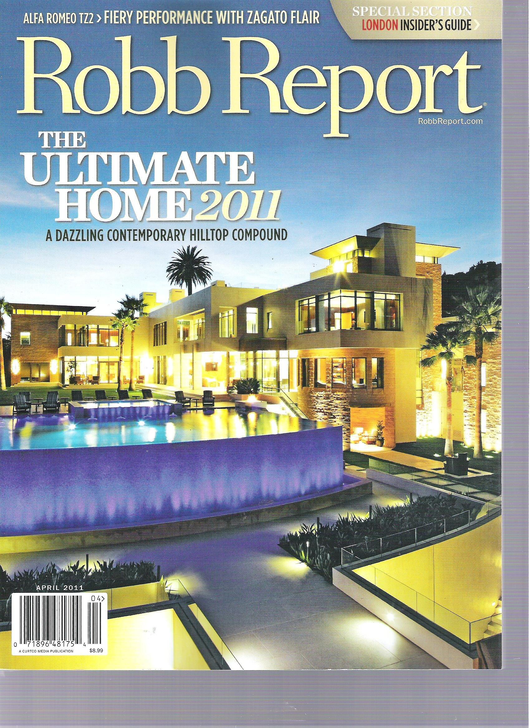 Robb Report Magazine, April 2011 pdf epub