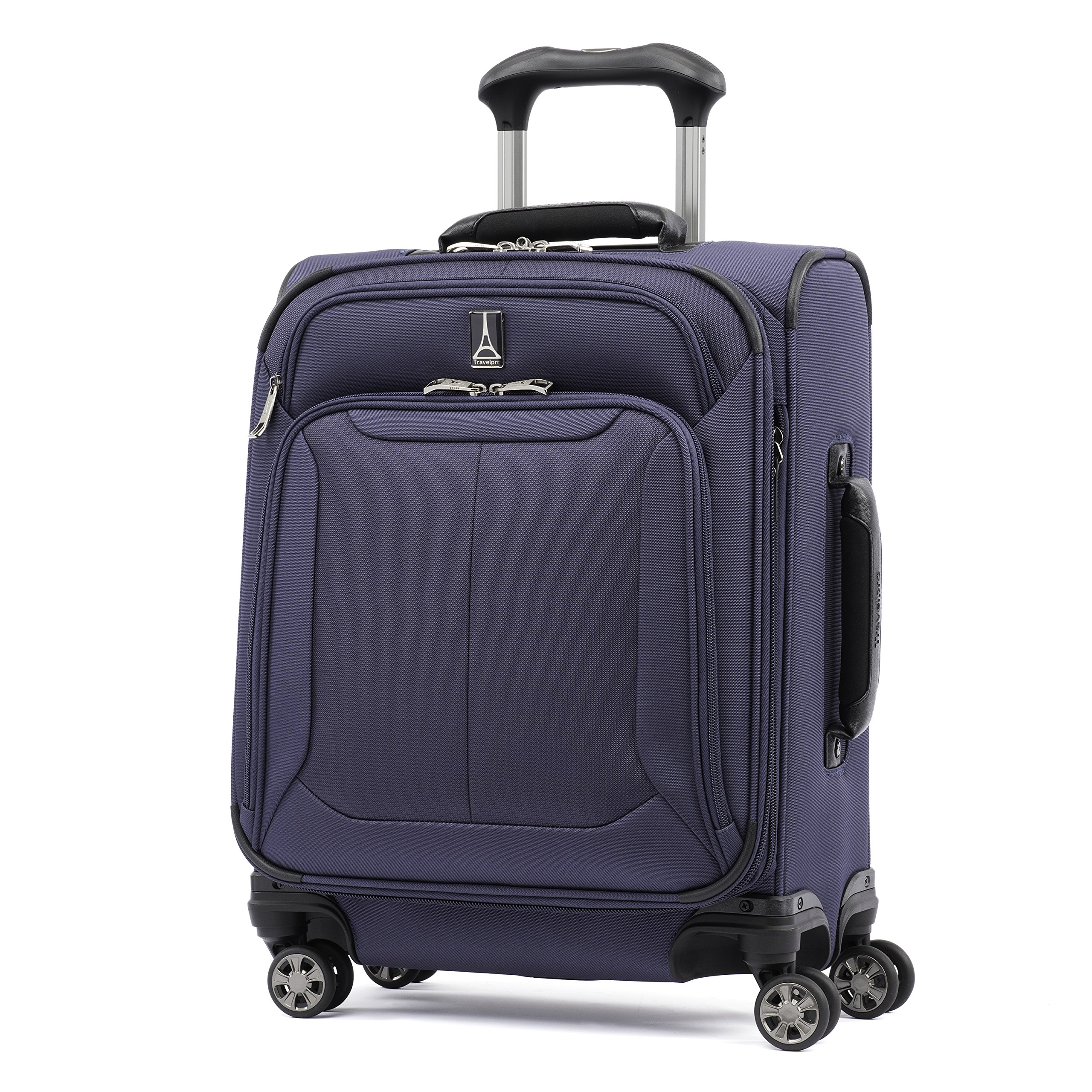 Travelpro Skypro Lite 20'' International Expandable 8-Wheel Carry-On Luggage Spinner (Navy)