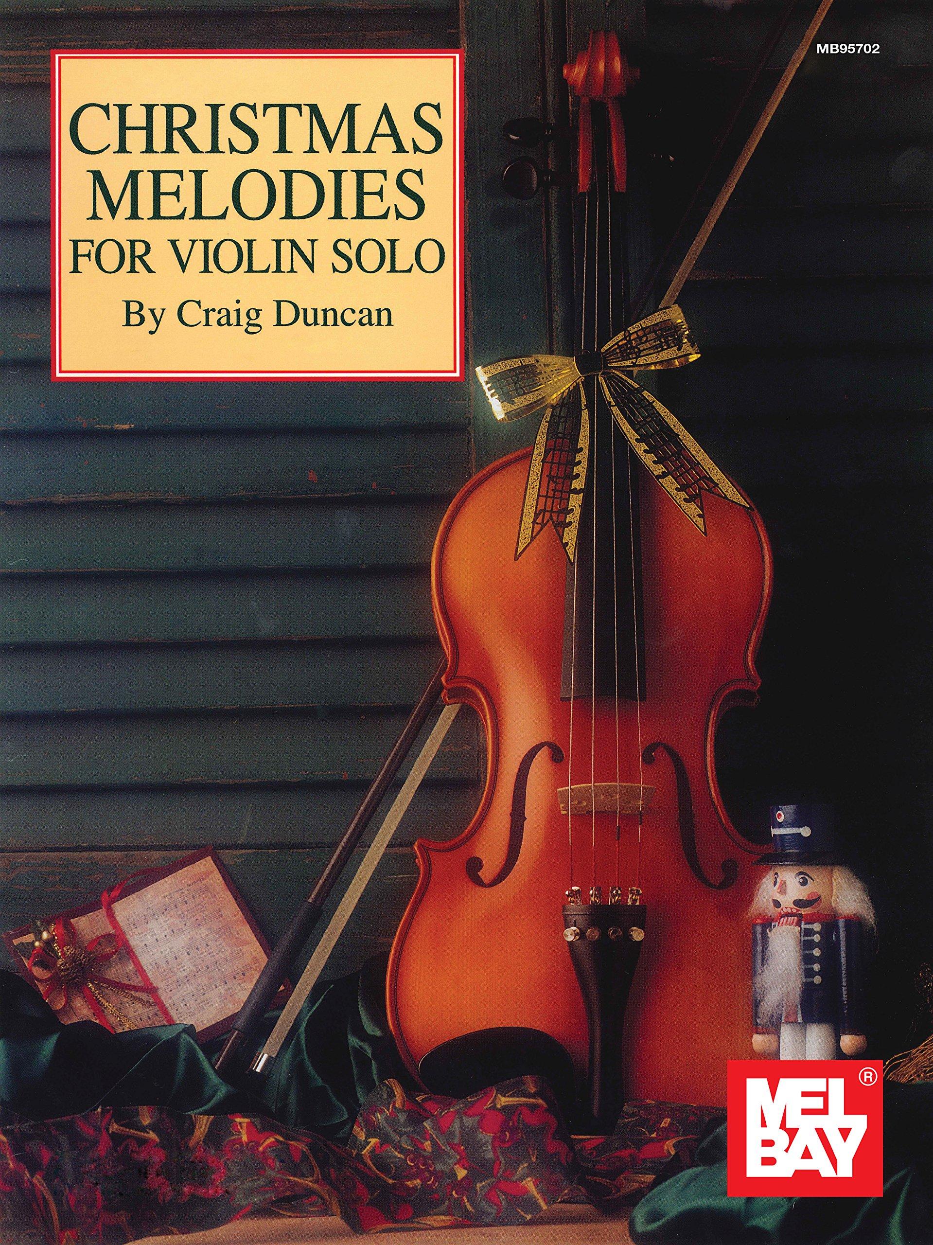 Christmas Violin.Amazon Com Christmas Melodies For Violin Solo