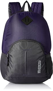 de68b6c3fa American Tourister 20 Ltrs Purple Small Casual Backpack (AMT HOOP BACKPACK- PURPLE)