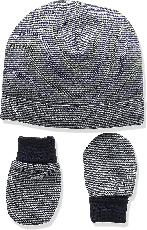 Mamas and Papas Baby Boys Multi Stripe Hat /& Mitts
