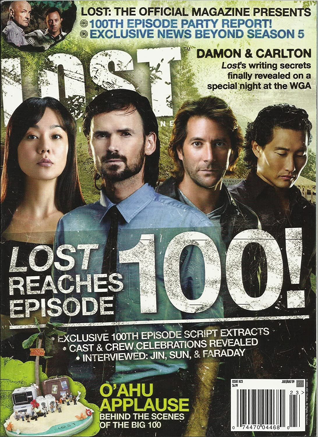 Lost Magazine Issue 23 July/August 2009 featuring exclusives