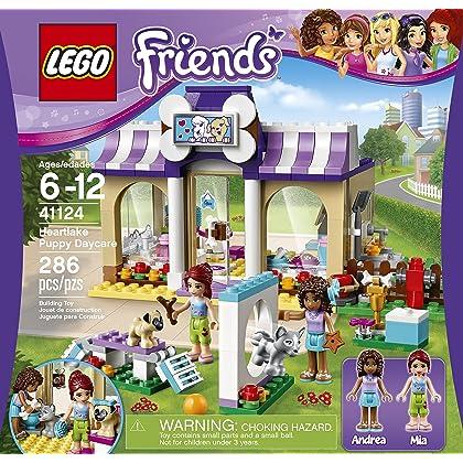 LEGO Friends 41124 Heartlake Puppy Daycare Building Kit (286 Piece)