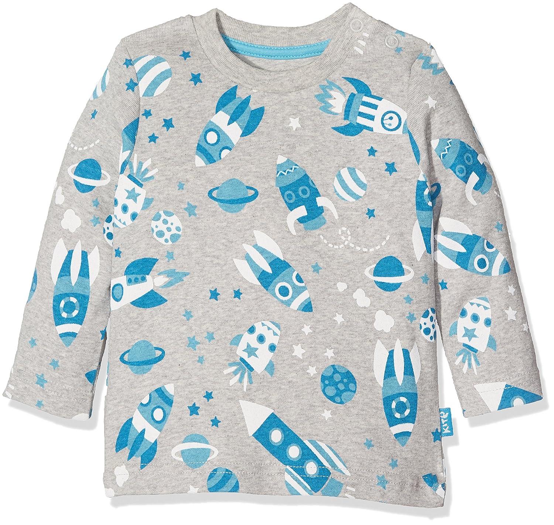 Kite Baby Boys' Cosmos Longsleeve T-Shirt (Grey Marl) 0-3 Months BB907