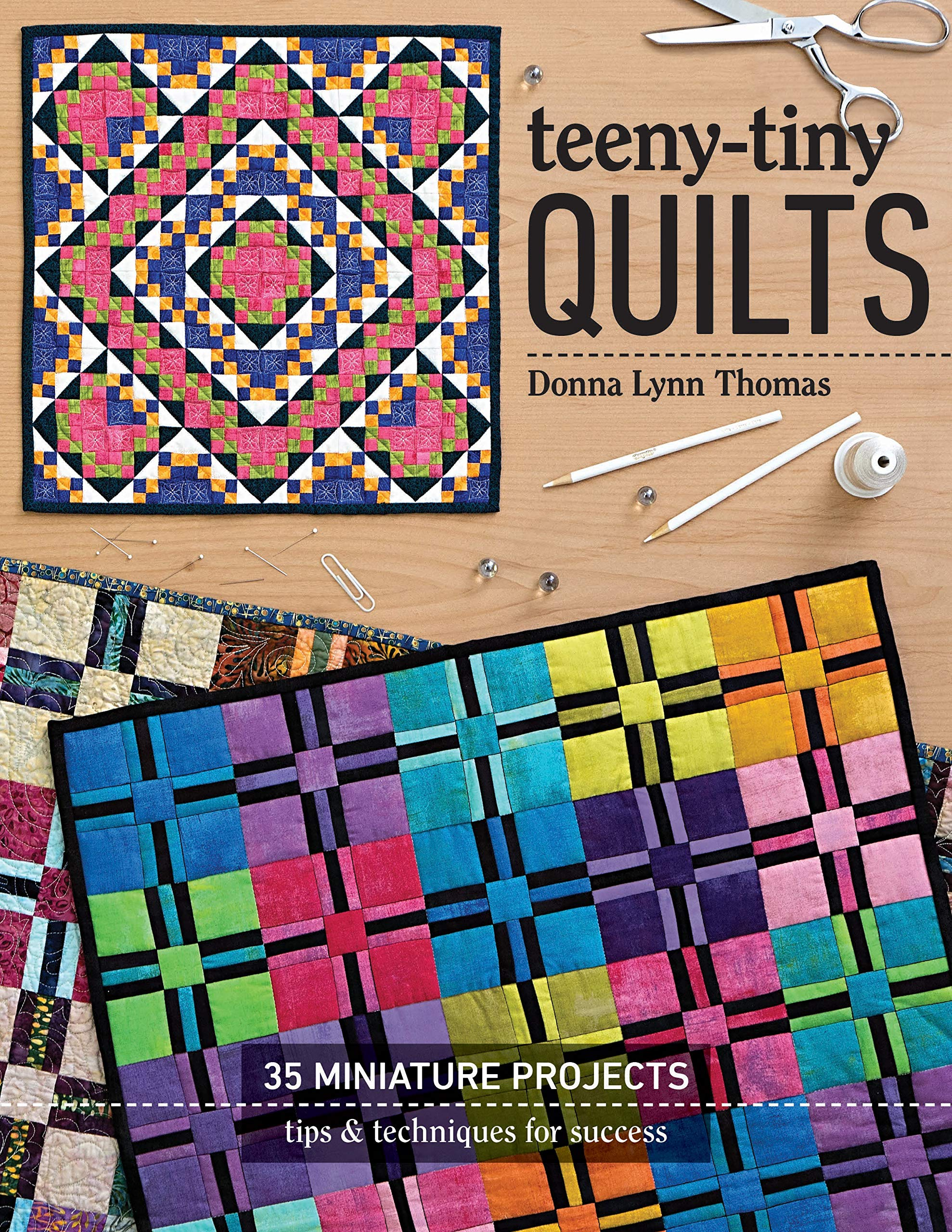 C&T PUBLISHING 11300 Teeny Tiny Quilts, None by C&T PUBLISHING