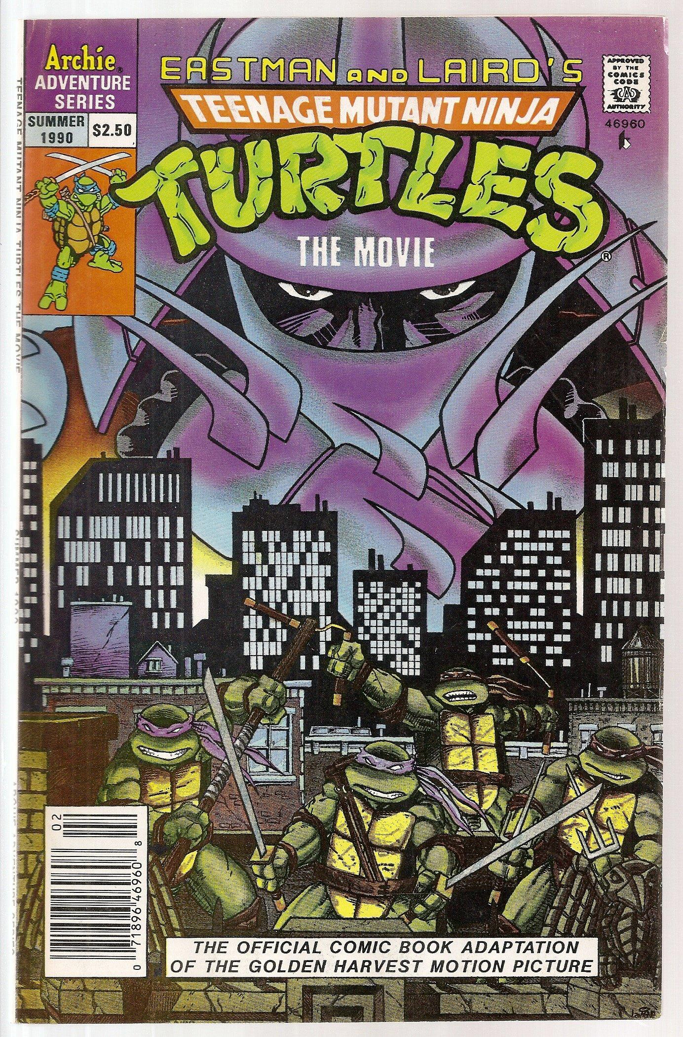 Teenage Mutant Ninja Turtles The Movie (Summer 1990): Amazon ...