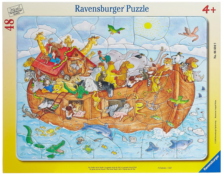 Ravensburger 06332 - Auf dem großen Bauernhof Ravensburger Spielverlag Tiere Kinderpuzzles Kinderpuzzles / Rahmenpuzzles