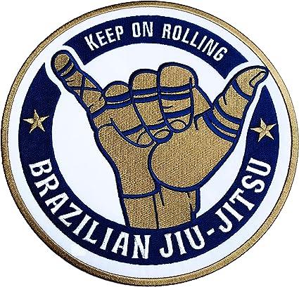 Brazil Jiu-Jitsu Flags Patch USA America Free Shipping New