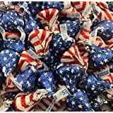 Hershey's Kisses, Milk Chocolate Kisses Red-White and Blue USA Flag (Pack of 2 Pound)