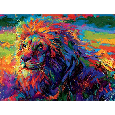 Ceaco 2427-2 Blend COTA King of The Jungle Puzzle - 550Piece: Toys & Games
