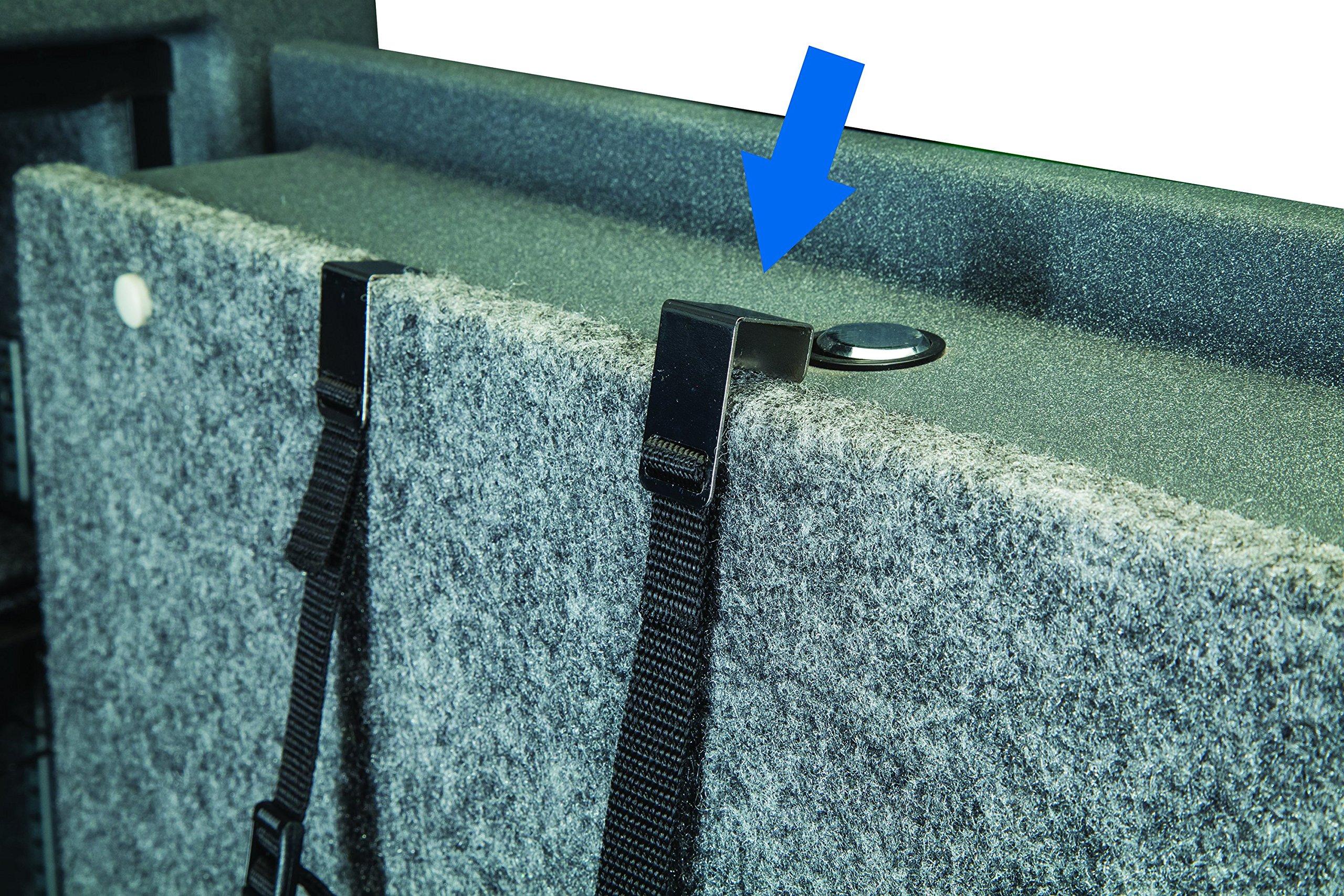 LOCKDOWN Handgun/Tactical Rifle Upper Hanger Gun Safe Organizer by LOCKDOWN (Image #3)