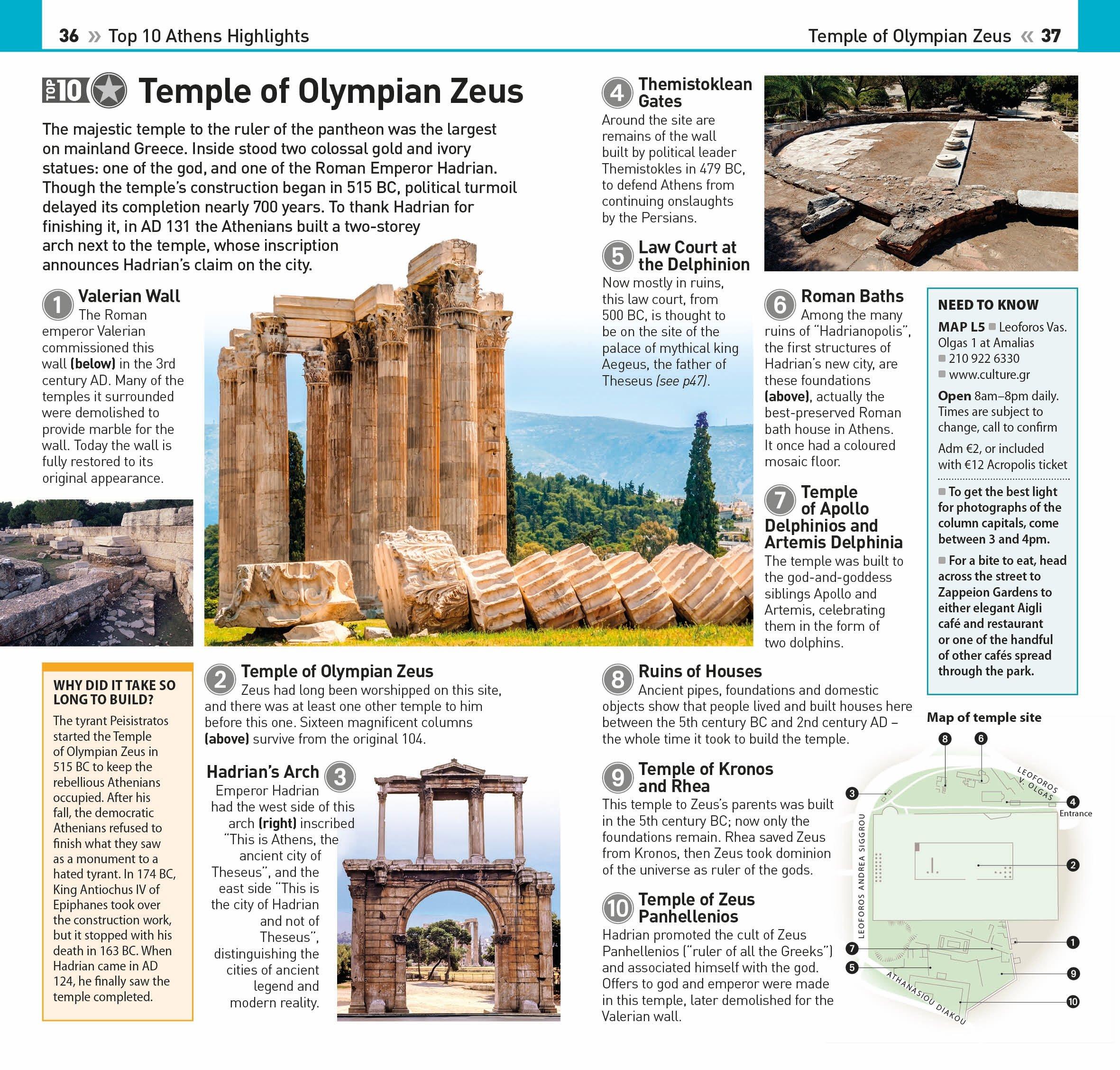 Top 10 Athens (eyewitness Top 10 Travel Guide): Dk: 9781465459909:  Amazon: Books