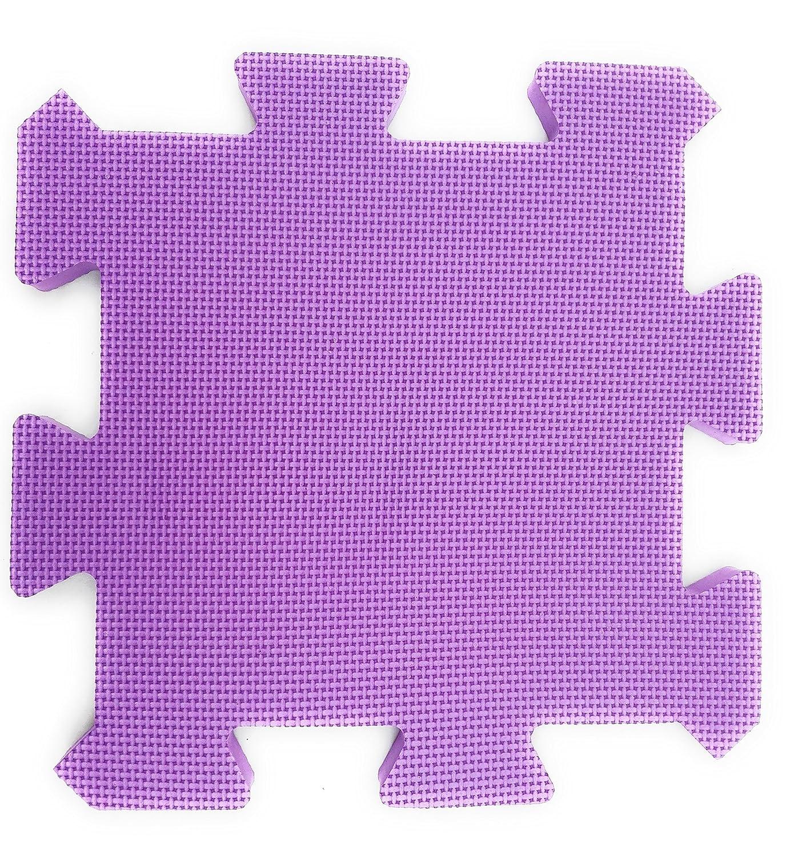 Alfombra Puzzle Bebe Infantil Goma EVA-Foam. No tóxica. Extra Acolchada 2 cms. Lavable.