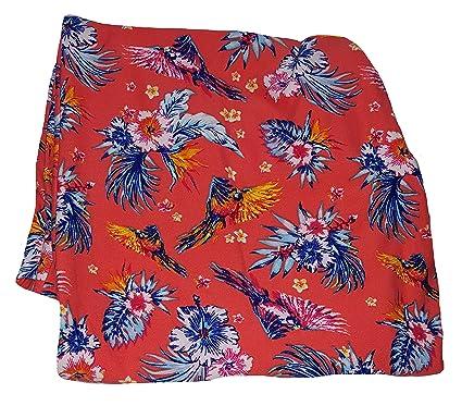 2e0b57c2fa5 Terra   Sky Birds Floral Print Plus Size Generous Fit Capri Legging - 0X