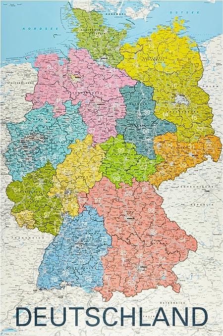 Cartina Della Germania Da Colorare.Manuale Cavita Montare Cartina Dettagliata Della Germania Amazon Settimanaciclisticalombarda It