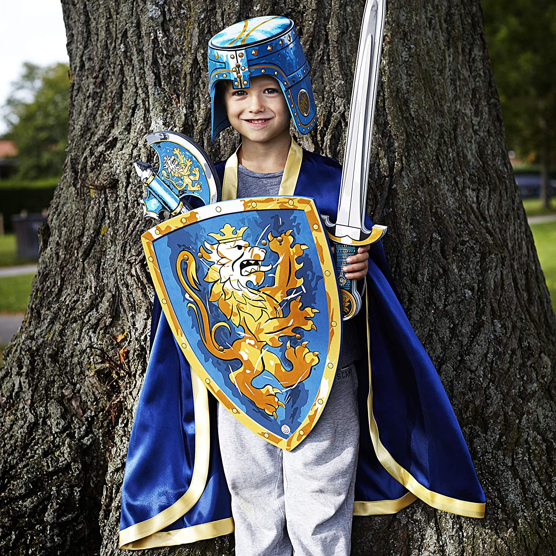 Liontouch Knight Sword Noble Knight Blue EVA Foam Medieval Fantasy for Kids