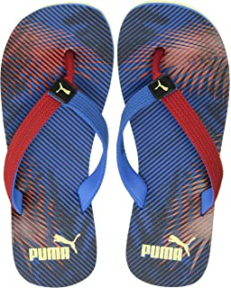 a74639f12270 Puma Unisex Wave Jr Ind Blue FlipFlops and House Slippers - 12C UK ...