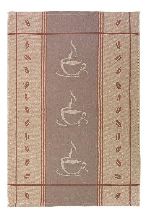 ZOLLNER Set de 5 Trapos de Cocina de algodón, 50x70 cm, Color marrón Cappuccino, Disponible en Otros Colores: Amazon.es: Hogar