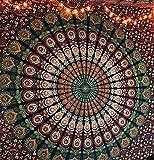 D coration de chambre 100 coton imprim la main tapisserie murale ou drap de plage mandala - Decoration chambre psychedelique ...