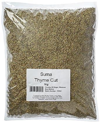 Bulk Herbs Thyme 1 kg: Amazon co uk: Grocery
