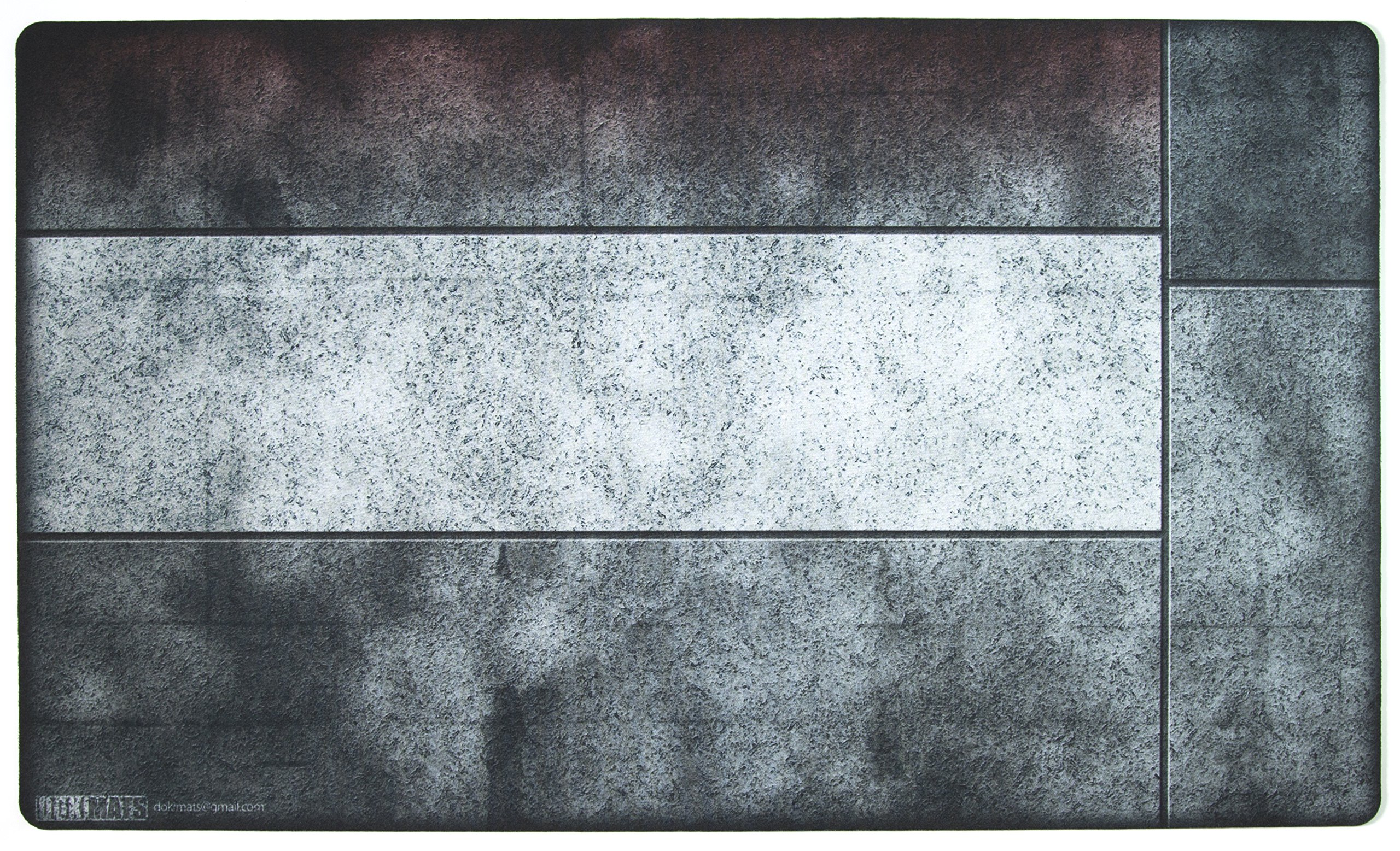 Red Zone Playmat Inked Gaming - Inked Playmats / Perfect for MtG Pokemon & YuGiOh Magic the Gathering TCG Game Mat