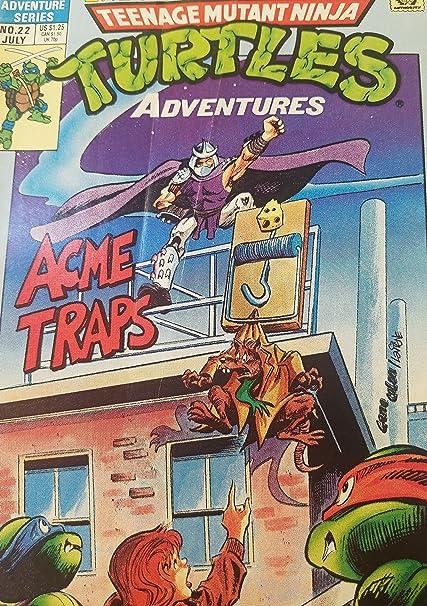 Amazon.com : Teenage Mutant Ninja Turtles #22 July 1991 ...