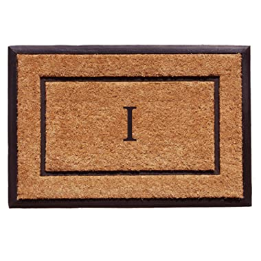 Calloway Mills Home & More 101632436I The General Monogram Doormat, Letter I