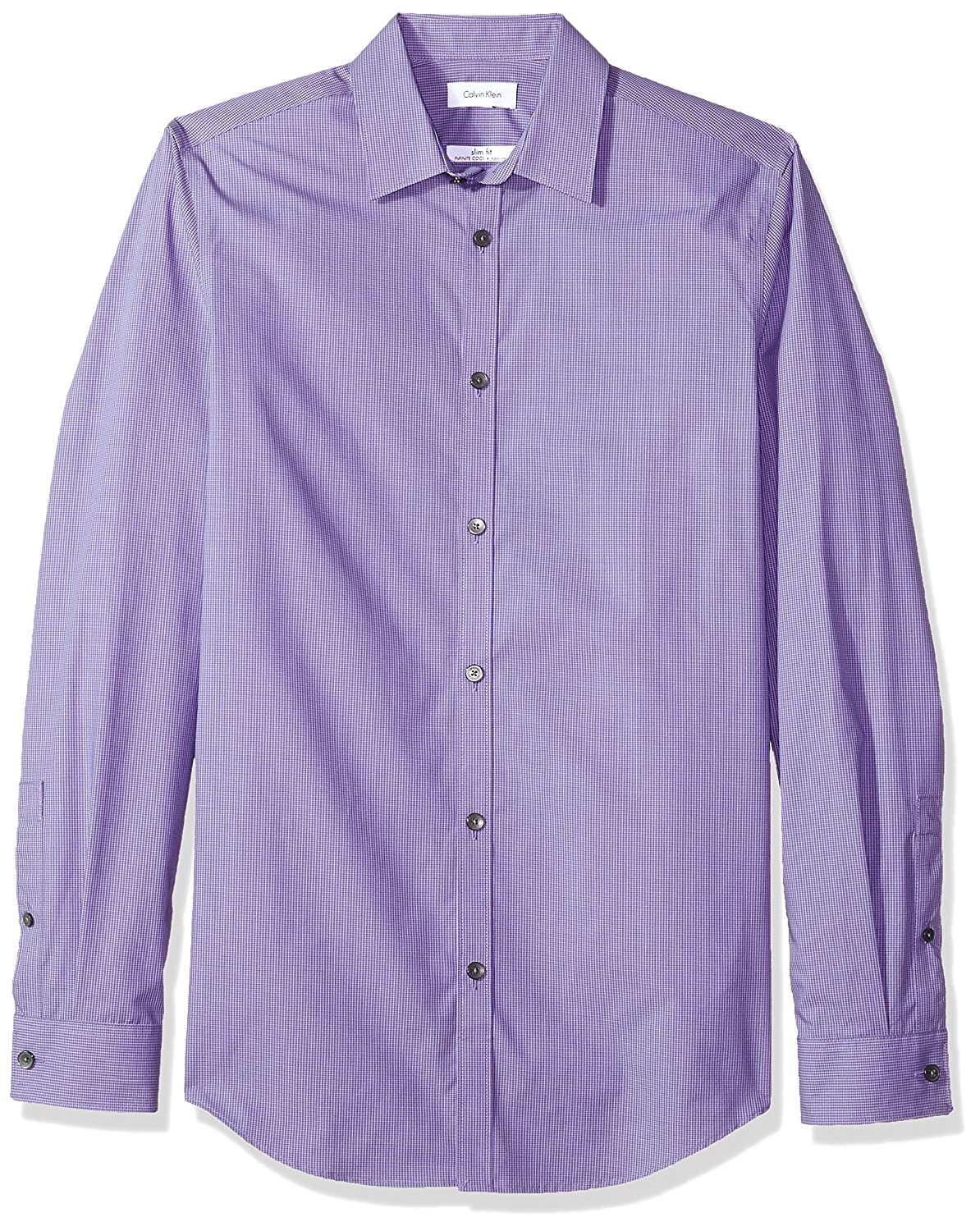 Calvin Klein SHIRT メンズ B0009W6FMQ 3L|Sultan Purple Sultan Purple 3L