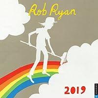 Rob Ryan 2019 Square Wall Calendar