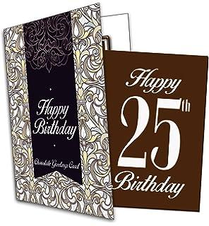 Son 25th Happy Birthday Card