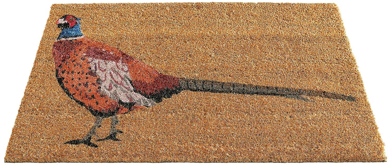 Gardman 82667 Paillasson Pheasant Fibres de Coco avec Dossier en PVC 45 x 75 cm