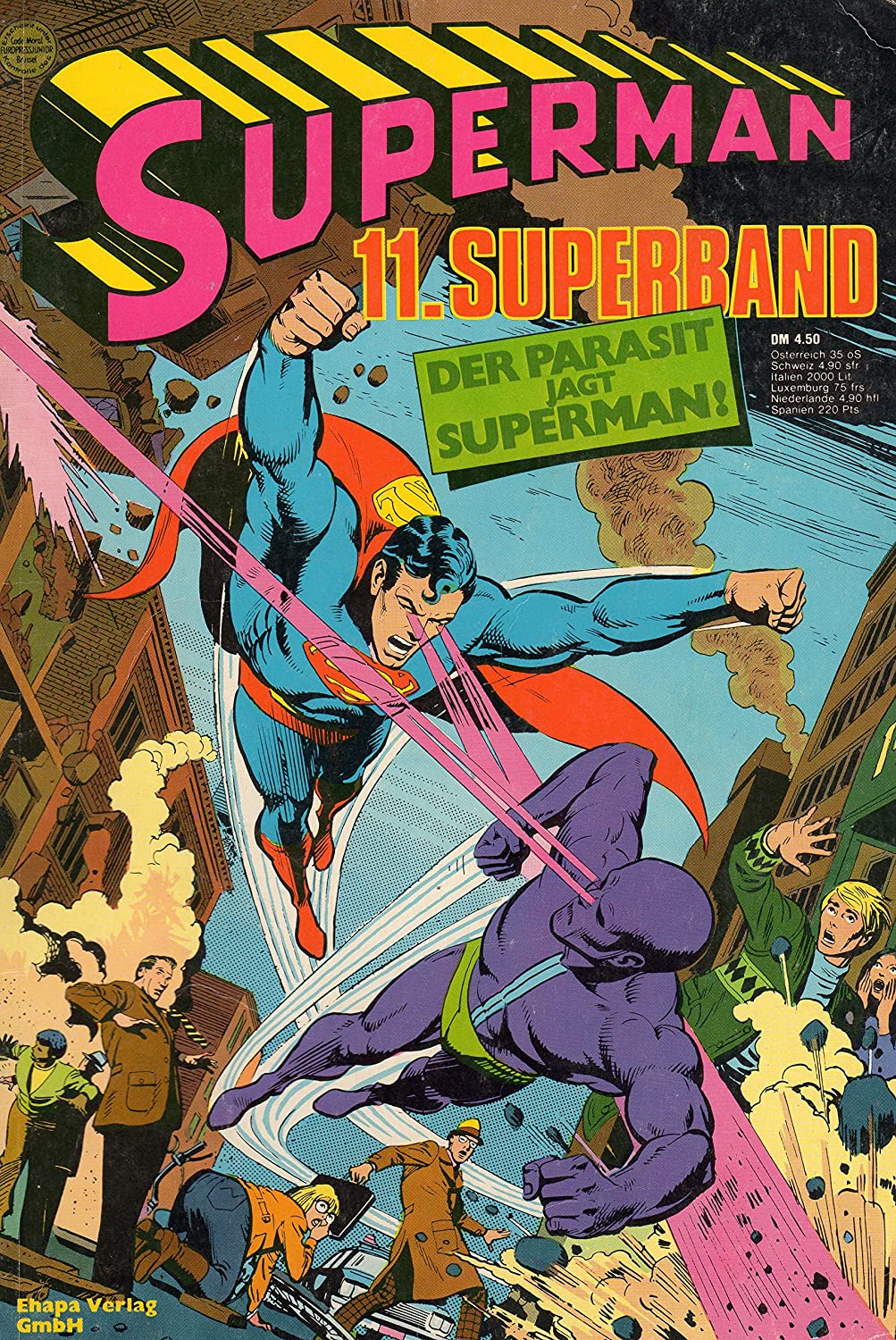 Verlagsvergriffen* DC Comics SUPERMAN Comic Superband # 11: Der ...