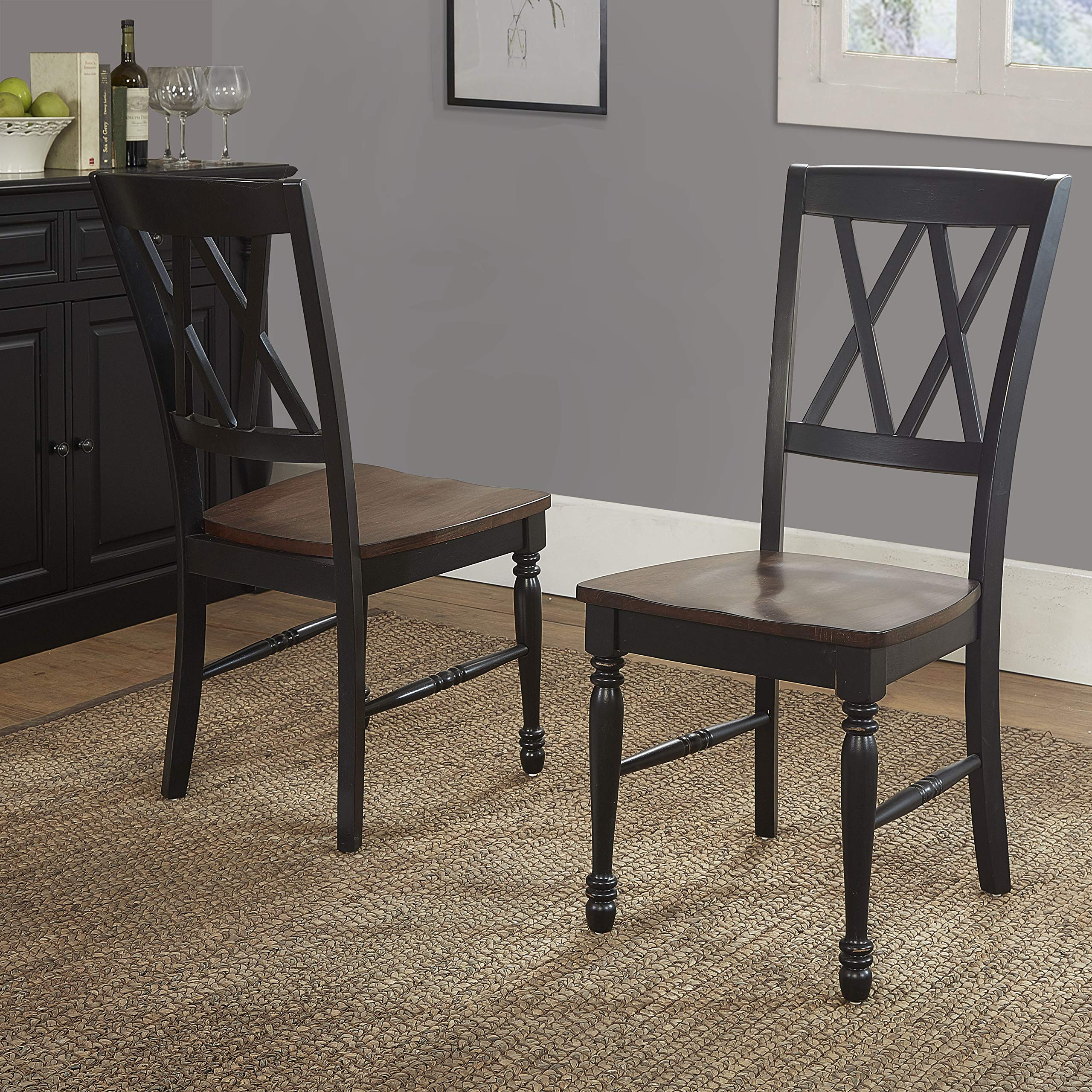 Crosley Furniture KF20001-BK Shelby 7-Piece Dining Set, Black by Crosley Furniture (Image #9)