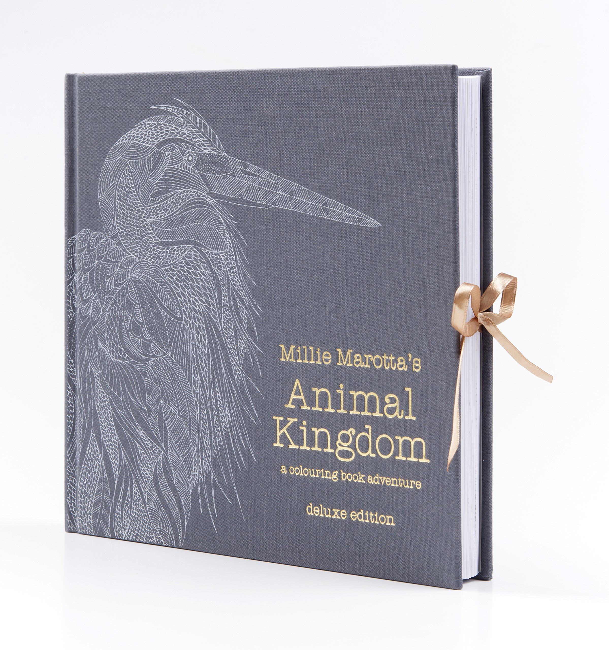 Millie Marottas Animal Kingdom Deluxe Edition A Colouring Book Adventure Amazoncouk Marotta Books
