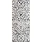 ReaLife Rugs Machine Washable Rug - Stain Resistant, Non-Shed - Eco-Friendly, Non-Slip, Family & Pet Friendly - Made from Pre