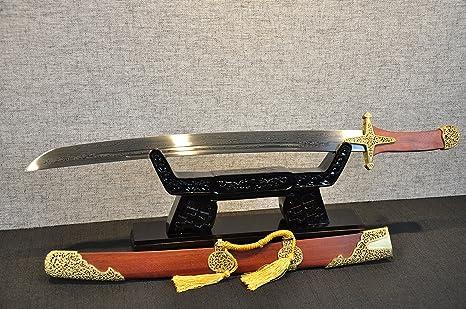 Amazon.com : yubo Handmade Knife Mahogany XY Ashura Knife ...
