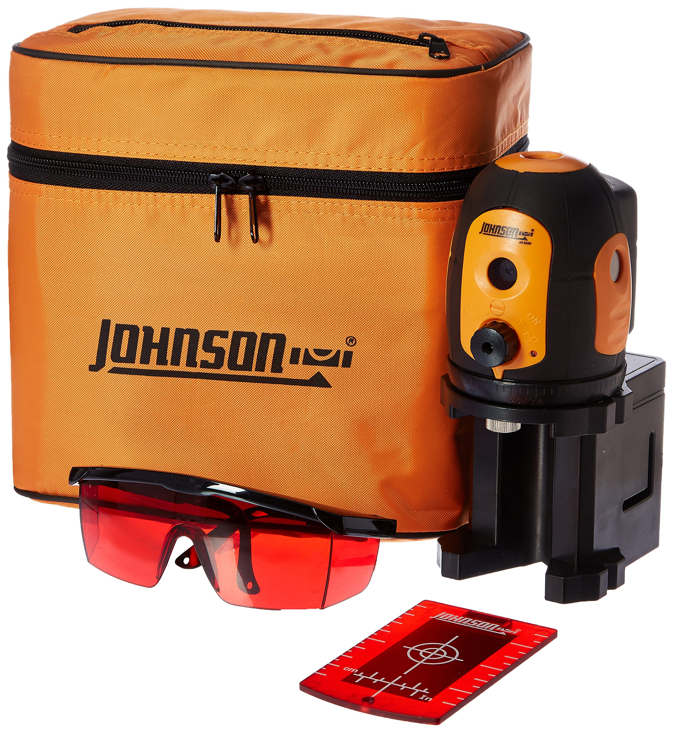 Johnson 40-6680 Self-leveling Five beam Dot Laser