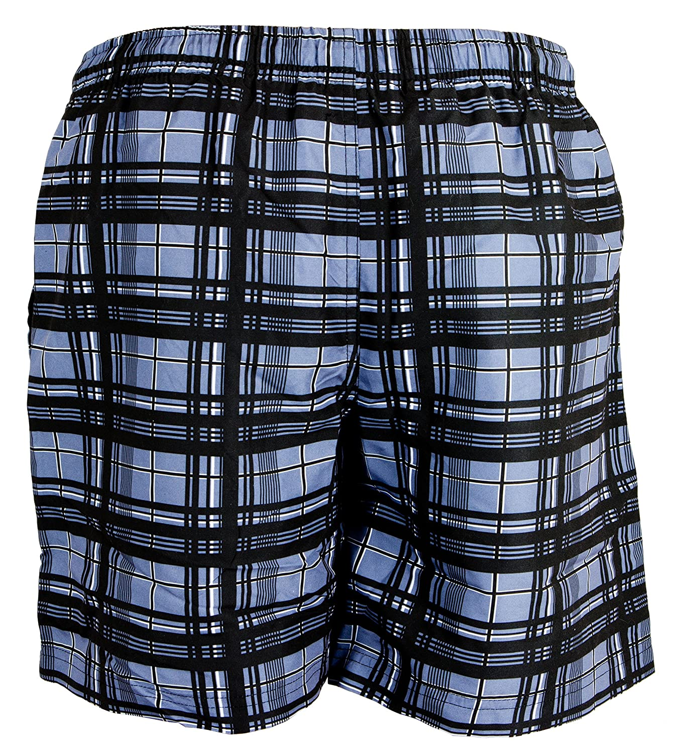GUGGEN MOUNTAIN Men's swimming trunks out of High-Tec Material swim shorts bathing drawers bathers slip checked *High Quality Print*