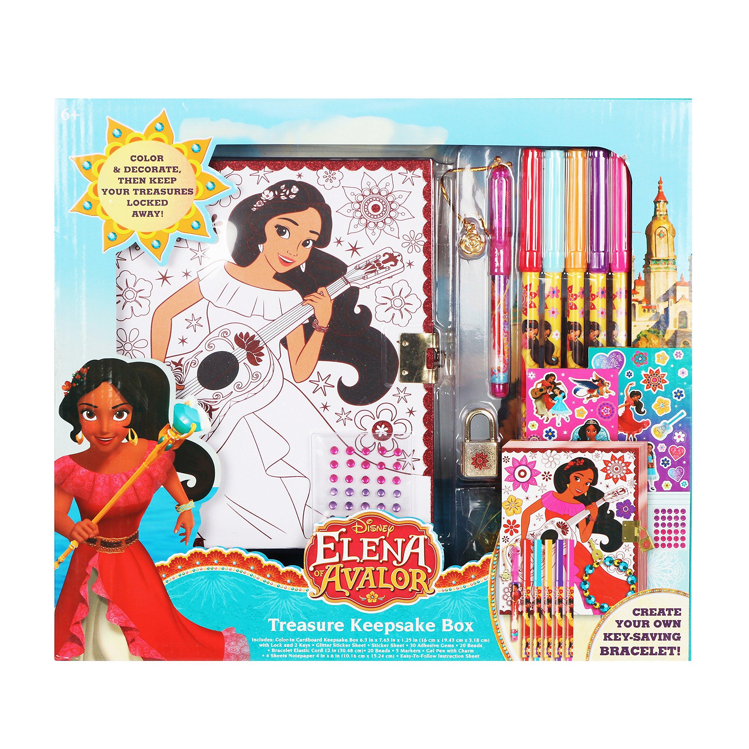 Disney Elena of Avalor Treasure Keepsake Box Set