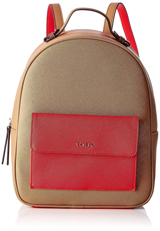 Bolso Mujer 25x31x12 cm Tous Mochila Essence MARR/ÓN-Rojo W x H x L