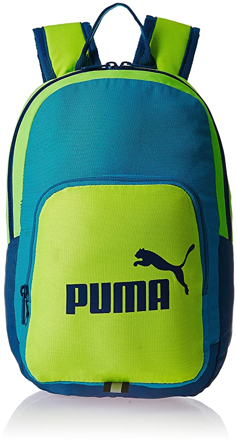 Image Unavailable. Image not available for. Colour  Puma 12 Ltrs Green  School Bag ... 7e12bfe4fc2d7