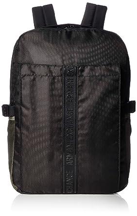 Armani Exchange - Backpacks, Mochilas Hombre, Negro (Nero), 41.5x11.0x29.0 cm (B x H T): Amazon.es: Zapatos y complementos