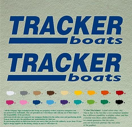"TRACKER BOATS marine boat fishing window car truck laptop Decals Graphics 9/"""