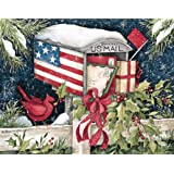 lang 5375 x 6875 inches perfect holiday mail box boxed christmas card 18 cards with - Christmas Cards For Veterans