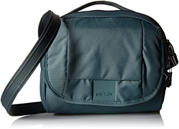 c502a972387e Amazon.com: Pacsafe Metrosafe LS140 Anti-Theft Compact Shoulder Bag ...