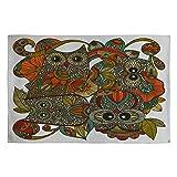 Deny Designs Valentina Ramos 4 Owls Woven Rug, 4 by