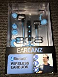 808 Audio Ear Canz Wireless Earbuds-Blue